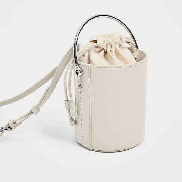 4afd20b5 Zara Bags   Crossbody Bag With Metallic Handle   Poshmark